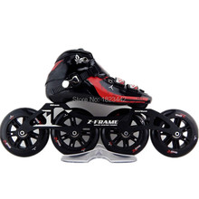 Adult Inline Skate Professions Roller Skate Slalom Skates Braking High-Strength Glass Fiber Roller Skates Patins