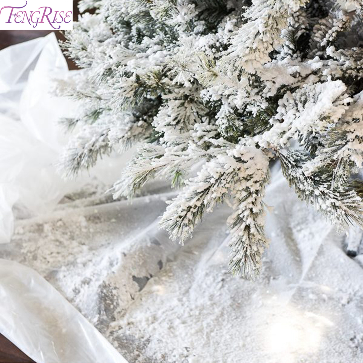 FENGRISE 1 Pack Instant Artificial Snow Fake Snow For Slime Magic Artificial Snowflakes Festival Party Decor Christmas Party