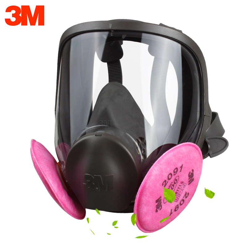 3M 6800 2091 Gas mask Safety Protective Respirator Mask Radiation-resistant Exceptional P100 Anti Oil Non-oil Particulate3M 6800 2091 Gas mask Safety Protective Respirator Mask Radiation-resistant Exceptional P100 Anti Oil Non-oil Particulate