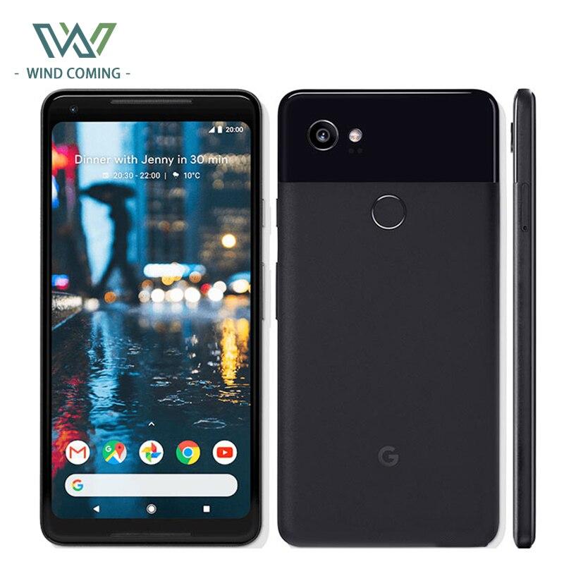 Hearty Original Google Pixel 2 Xl Mobile Phone 6 Octa Core Snapdragon 835 4gb Ram 64/128gb Rom Fingerprint 4g Unlocked Android Phone European