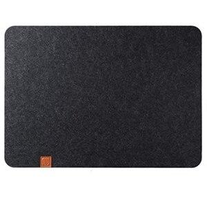 Войлочные столовые приборы 6 шт. набор черный-Настольный коврик можно протереть 45X32 см-моющиеся столовые приборы-обеденный войлочный коврик