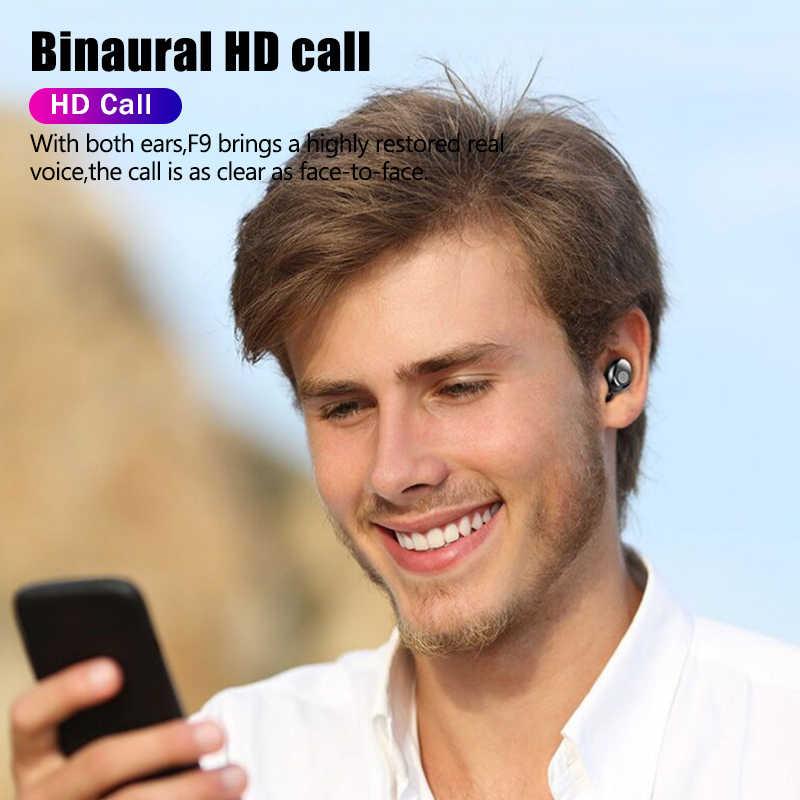 Słuchawki sportowe bezprzewodowe słuchawki bluetooth zestaw głośnomówiący gamingowy zestaw słuchawkowy prawdziwe bezprzewodowe wkładki douszne słuchawki basowe dla telefon iphone