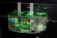 New Plastic Aquarium Nursery Automatic Circulating Hatchery Baby Fish Breeding Incubator For Pet Fish Tank Supplies