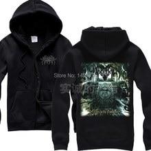 Negator horrible 100% Baumwolle Heißer Verkauf Felsen Hoodies Herbst winter  marke jacke mantel Schwarz Schwere Dark Metal Sweats. 3dffcb26bd