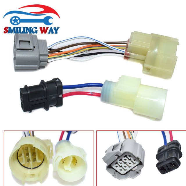 OBD0 to OBD1 ECU Distributor Adaptor Connector Wire Harness Cable For Honda B Wiring Harness on