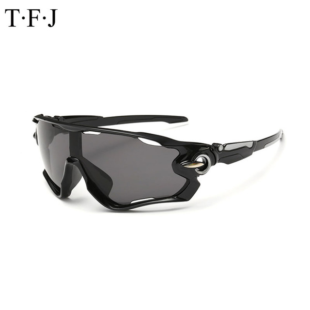 12579e32c79 TFJ 2017 New Sport Sunglasses Brand Men Women Sports Glasses for Climbing  Hiking Running Fishing Golf TY677
