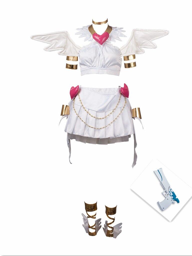 Трусики и чулки с Garterbelt трусики трансформационный Косплэй костюм и крылья и пистолет mp002384
