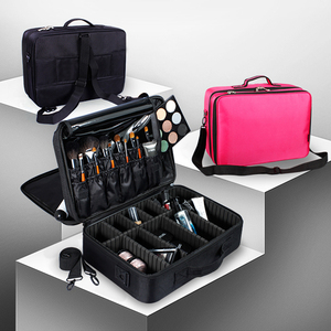 Image 3 - High Quality Make Up Bag Professional Makeup Case Makeup Organizer Bolso Mujer Cosmetic Case Large Capacity Storage Bag