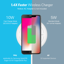 Wireless Charger for iPhone 8/X /8 Plus and Samsung Galaxy S8/S7 /S8 +