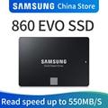 Samsung 860 EVO SSD 250 ГБ 500 1 ТБ Внутренний твердотельный жесткий диск HDD жесткий диск SATA3 2,5 дюймов ноутбука, настольного компьютера, ПК, жесткий диск ...