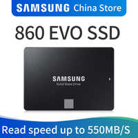 Samsung 860 EVO SSD 250GB 500GB 1TB Internal Solid State Disk HDD Hard Drive SATA3 2.5 inch Laptop Desktop PC Disk HD SSD