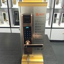 Биометрический дверной замок для ворот безопасности, электронный умный дверной замок без ключа, прайс-лист
