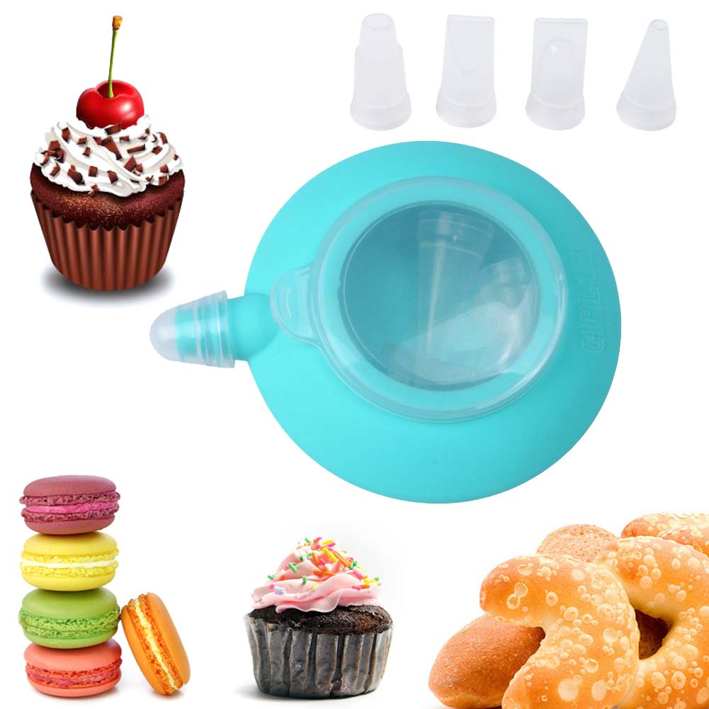 Kitchen decorating tip sets bakery silicone cake muffin for Bakery decoration