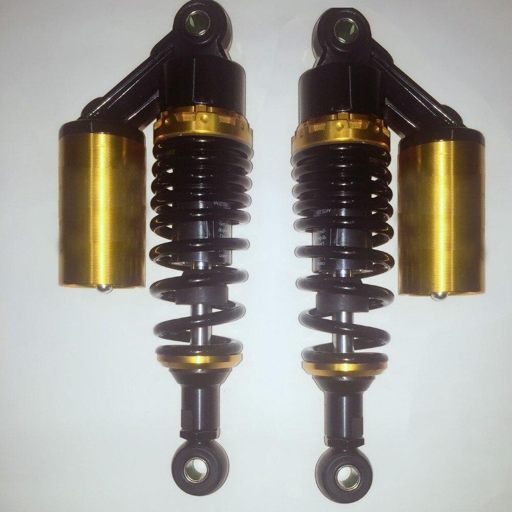 one pair 250mm 255mm Universal Shock Absorbers for Honda/Yamaha/Suzuki/Kawasaki/Dirt bikes/ Gokart/ATV/Motorcycles and Quad.