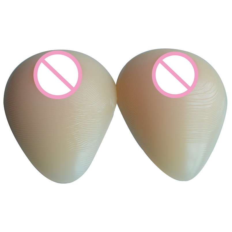 2017New Teardrop Shape 1Pair Size XL(1000g) High Quality Silicone Breast Form Fake False Chest Prosthesis For Crossdresser 2017new 1200g pair high quality silicone breast form fake false chest prosthesis realistic touch with strap for mastectomy