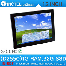 Cheapest Gaming Desktop computer with 15 inch 1G RAM 32G SSD for office educational htpc(China (Mainland))