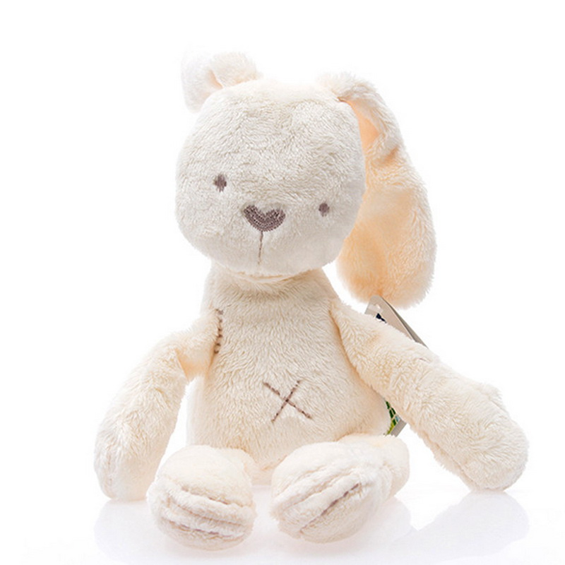 New High Quality Soft Stuffed Kids Animals Rabbit Sleeping Cute Cartoon Plush Toy Stuffed Animal Dolls Children Birthday Gift
