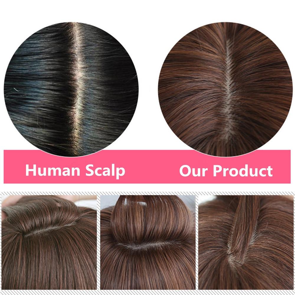 Feibin Långa Pärlor För Svarta Kvinnor Syntetisk Afro Vågigt - Syntetiskt hår - Foto 5