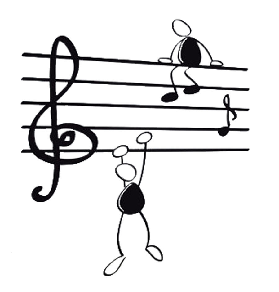 aliexpress com buy d216 wall sticker music notes funny guys for