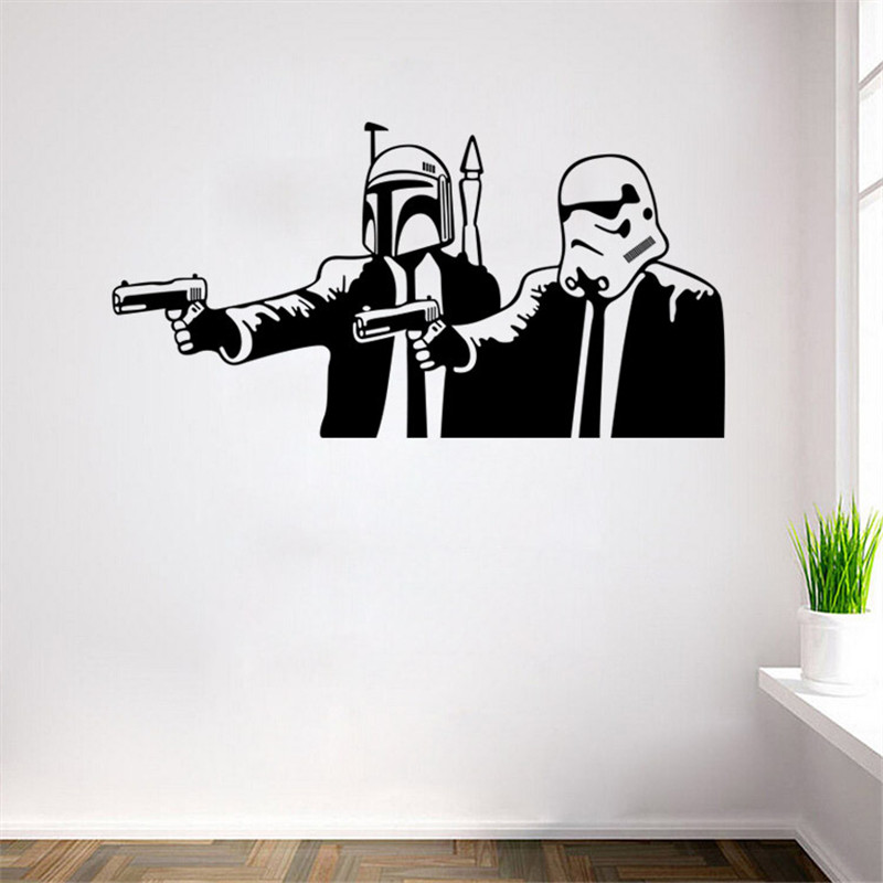 Aliexpress.com : Buy Star Wars Stormtrooper Helmet Wall Sticker Star Wars  Wall Stickers For Kids Room Decoration Living Room Bedroom Background Decal  From ... Part 11