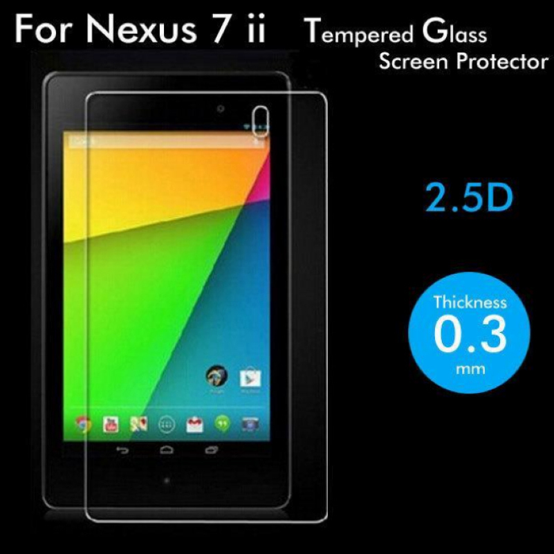 For Asus Google Nexus 7 II 2nd Generation Tablet PC 7.0inch Premium Explosion-Proof Tempered Glass Screen Protector