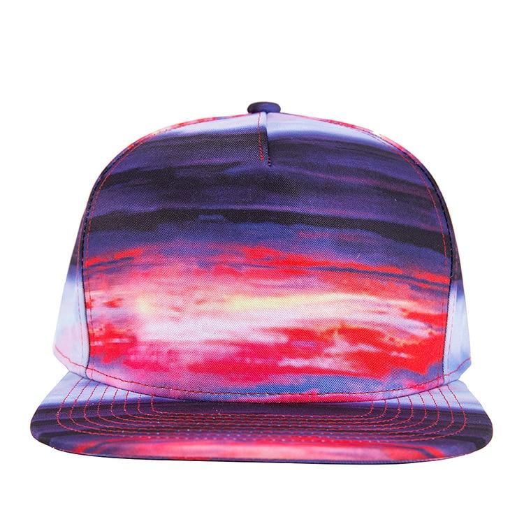 men trucker hater snapback gorras male Sky rainbow hiphop cap female  baseball cap women brim straight hat unisex rap chapeau-in Baseball Caps  from Apparel ... 14ceff2b8cc2