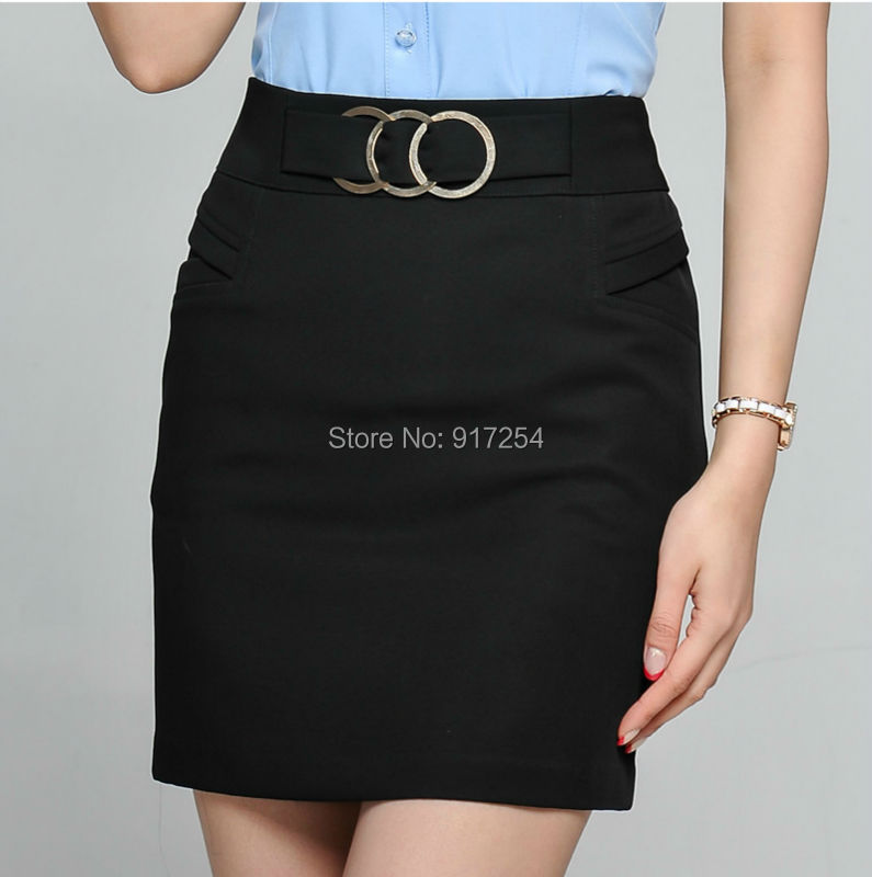 New 2014 Sexy Slim Hips Women Skirts Novelty Career Skirt For Office Ladies Work Wear Mi ...