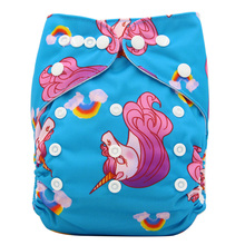 Reusable Diapers for Babies with Various Animal Themed Prints
