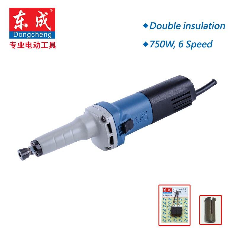 Speed Variable Die Grinder 750W Mini Grinder Mini Sander Polisher Metal 6 Speed 3800 8300Rpm 3mm