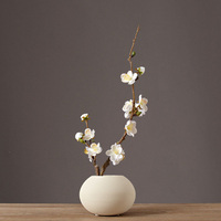 Traditional Chinese ceramic vase arts and crafts Decor Plum blossom Flowerpot set Porcelain vases home decoration accessories