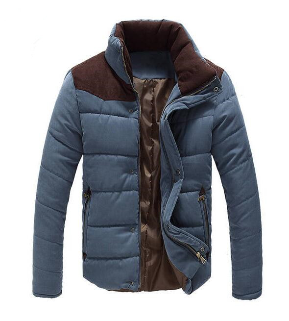 Подробнее о New Arrival Men Winter Warm Jacket Outwear Coat Mens Solid Thick Parkas Coat Casual Fashion Patchwork Jackets Stand Collar Coats winter jacket men coats thick warm casual fur collar winter windproof hooded outwear men outwear parkas brand new
