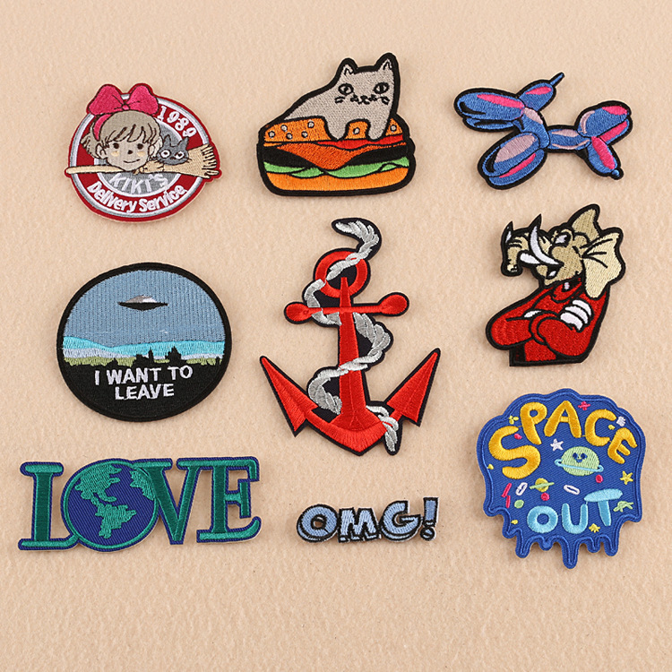 11 DESIGN Motifs Iron Or Sew On Patch Badge Costume Boy Girl Decorate