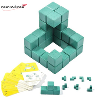 3D Soma Cube Iq Puzzle 3d Learning Education Cube Puzzle Nice Mother & Kids Interaction Game Brain Development Toys for Kids