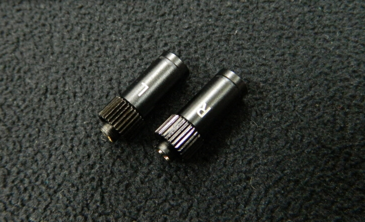 free shipping 1 pair 2pcs DIY Straight DIY XLR Earphone Pin Adapter For JH AUDIO JH24 Roxanne 24 Iriver AK frequency divider adapter for jh audio jh24 roxanne akr03 layla angie earphone pin 1pcs