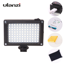 Ulanzi Arilight Перезаряжаемая видео-подсветка на DSLR Камеры с Батареей и Фильтрами для Canon Nikon Sony DV Видеокамер DSLR