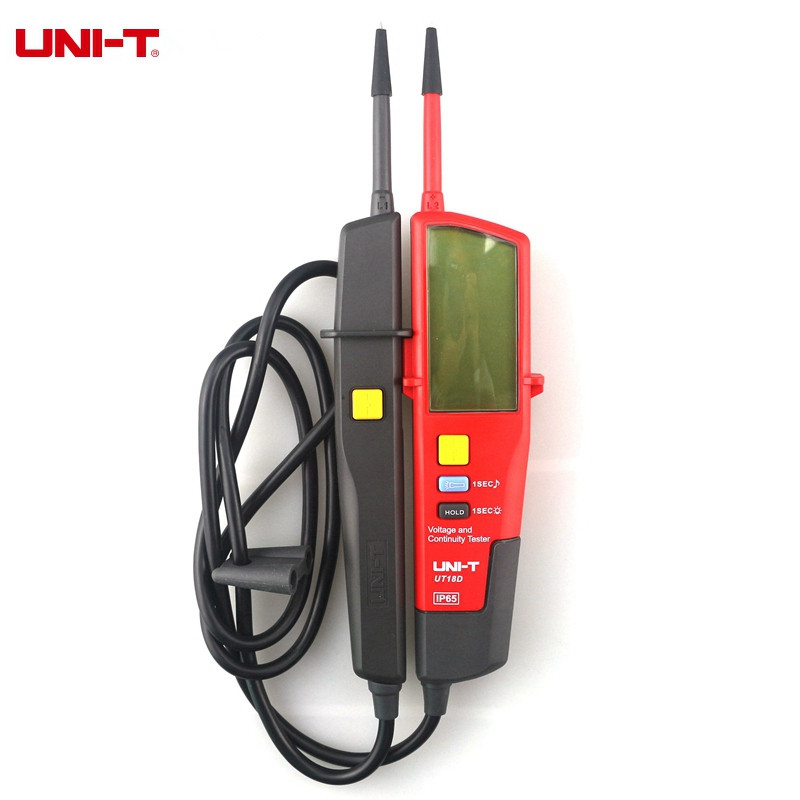 UNI-T UT18D Voltage And Continuity Testers Auto Range Volt Detectors Pen LED/LCD Display Diagnostic-tools  цены