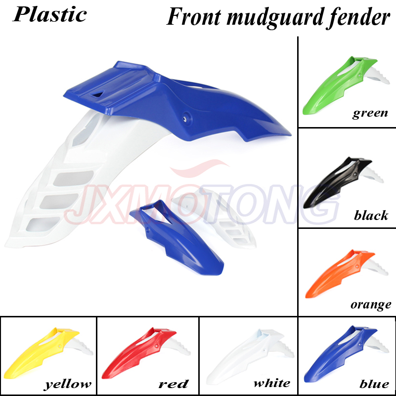 Off Road Front mudguard front fender Colorful plastic cover for kayo BSE 250cc Dirt Pit Bike MX Motocross Motorcycle image