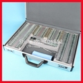 266 Trial lens set Optometry trial lens case Metal rim Aluminium case