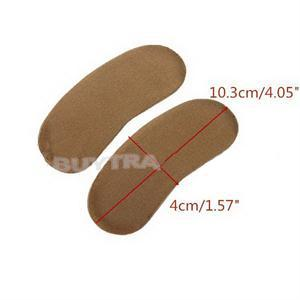 5Pair Strong Sticky Fabric Shoe Heel Inserts Insoles Pads Cushion Grip Protector