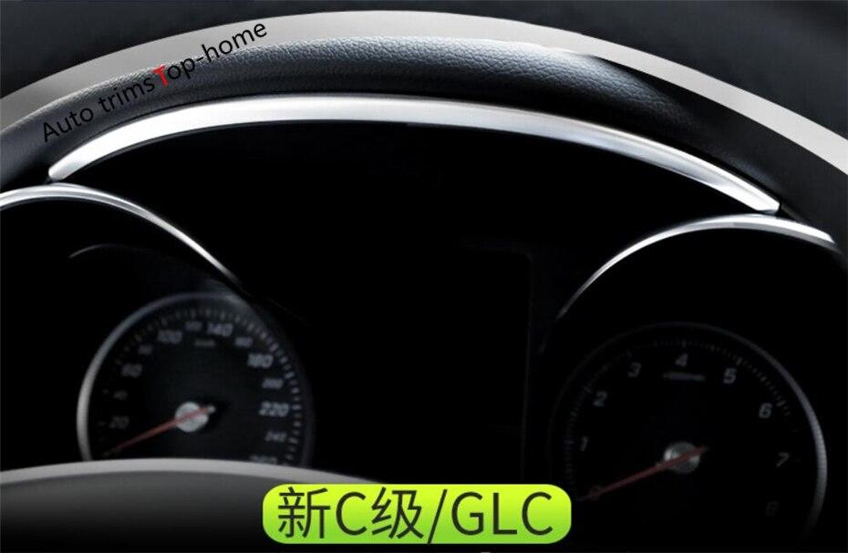 Housse de protection de bande pour tableau de bord | Pour Mercedes Benz C classe W205 C200 / GLC X253 GLC 300 2015 - 2020