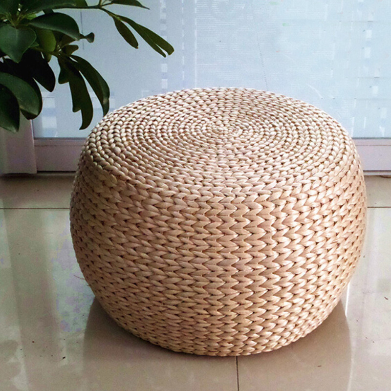 high quality rattan stool dia32 h22 cm in stools ottomans from furniture on. Black Bedroom Furniture Sets. Home Design Ideas