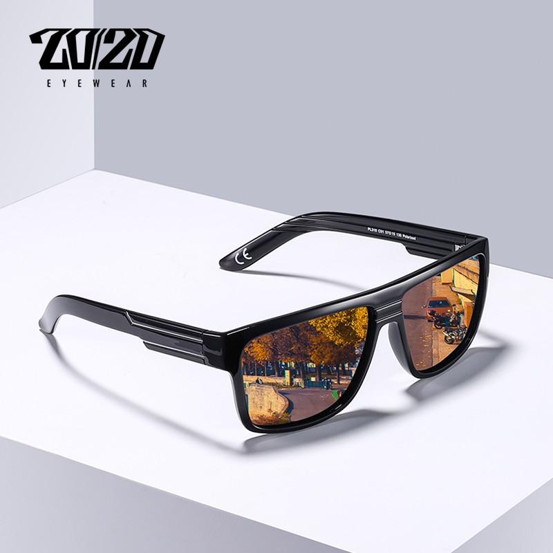 20/20 Brand New Classic Polarized Black Sunglasses Men Driving Sun Glasses for man Shades Eyewear Oculos PL310