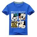 Летняя футболка с коротким рукавом для девочек 2018  футболка с 3D принтом Микки для мальчиков  хлопковая футболка  Детская футболка с круглым ...