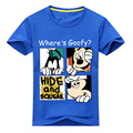 2018 Garota Verão de Manga Curta 3D Mickey Impressão Camisetas Para O Menino de Algodão T Tops Roupas Crianças O-Neck T Camisa Do Traje garoto DX012