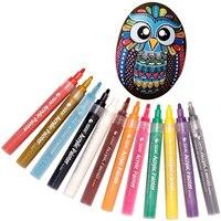 STA 12 24 акриловая краска маркер эскиз канцелярских товаров Набор для DIY Manga рисования маркером школьников Краски er поставки