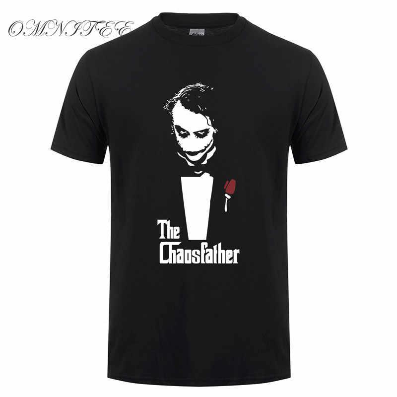 Модные летние стильные Джокер футболки мужские хлопковые мужские футболки новые футболки с принтом Джокер с коротким рукавом мужские топы Бесплатная доставка OT-418