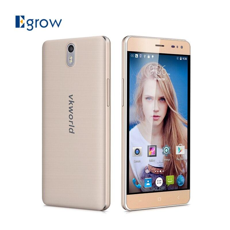 Цена за Оригинал VKworld G1 MTK6753 Окта основные Android 5.1 Мобильный Телефон 5.5 дюймов 5000 мАч Сотовые Телефоны 3 Г RAM 16 Г ROM 4 Г Разблокировать Смартфон