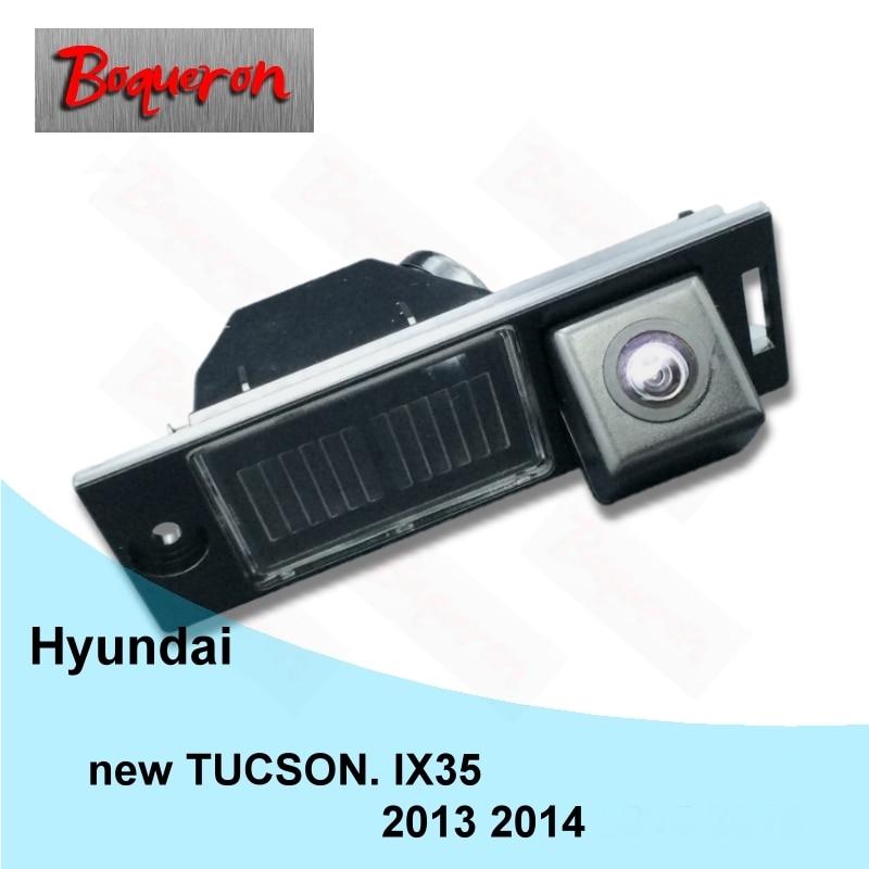 For HYUNDAI New Tucson Ix35 Car PAL HD Parking Backup Reverse Rear View Camera