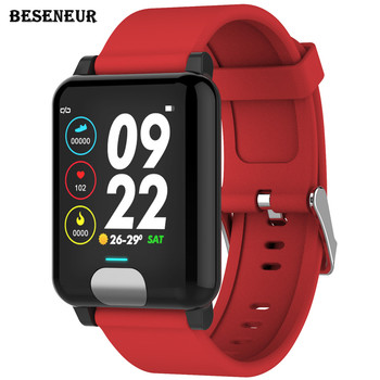Beseneur E04 Smart Band Fitness Tracker ECG/PPG Blood Pressure Heart Rate Monitor Waterproof Bluetooth Bracelet for Android IOS