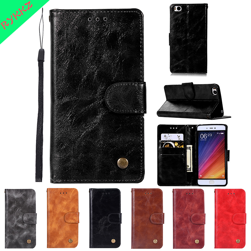 Luxury business Flip cases For Xiaomi Mi 5S 2015711 5.1 inch wallet phone bag for mi 5s mi5s 5 s Mi 5 S case Phone Leather Cover